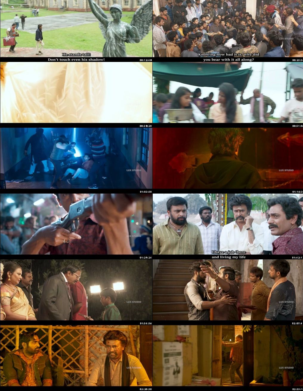 Petta 2019 Full Hindi Movie Download HDRip 1080p