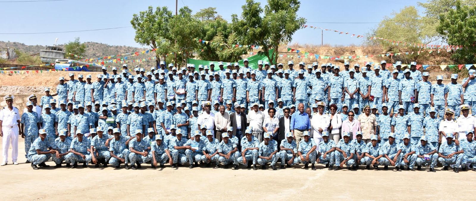 <Training for members of the Eritrean Navy