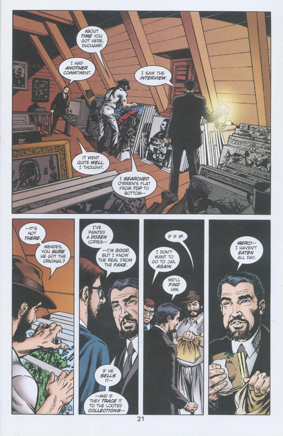 Read online American Century comic -  Issue #14 - 21
