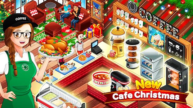 Cafe Panic Cooking Restaurant v1.11.9a Para Hileli