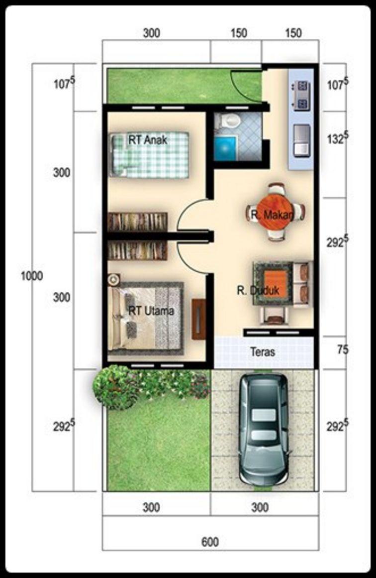 Contoh Rumah Minimalis 6x10 1 Lantai Contoh Rumah