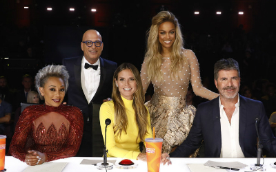 "The judges and host of ""America's Got Talent"" for 2017."