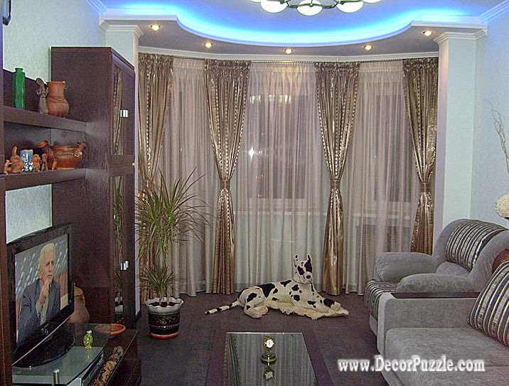 French Curtains For Living Room 2018 Bright Curtain Designs