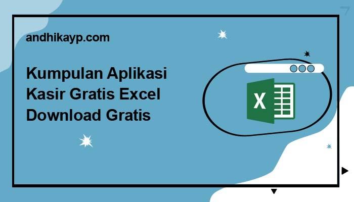 aplikasi kasir gratis excel
