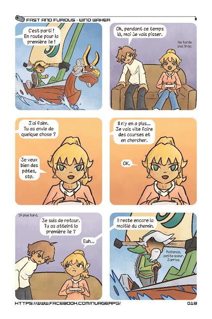 Zelda Wind Waker comics