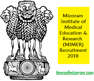 mimer mizoram recruitment
