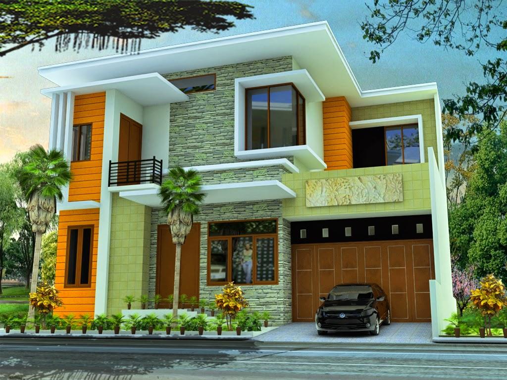 33 Rumah Minimalis Jendela Sudut Untuk Mempercantik Rumah Rumah minimalis kaca sudut
