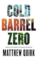 Cold Barrel Zero by Matthew Quirk book cover
