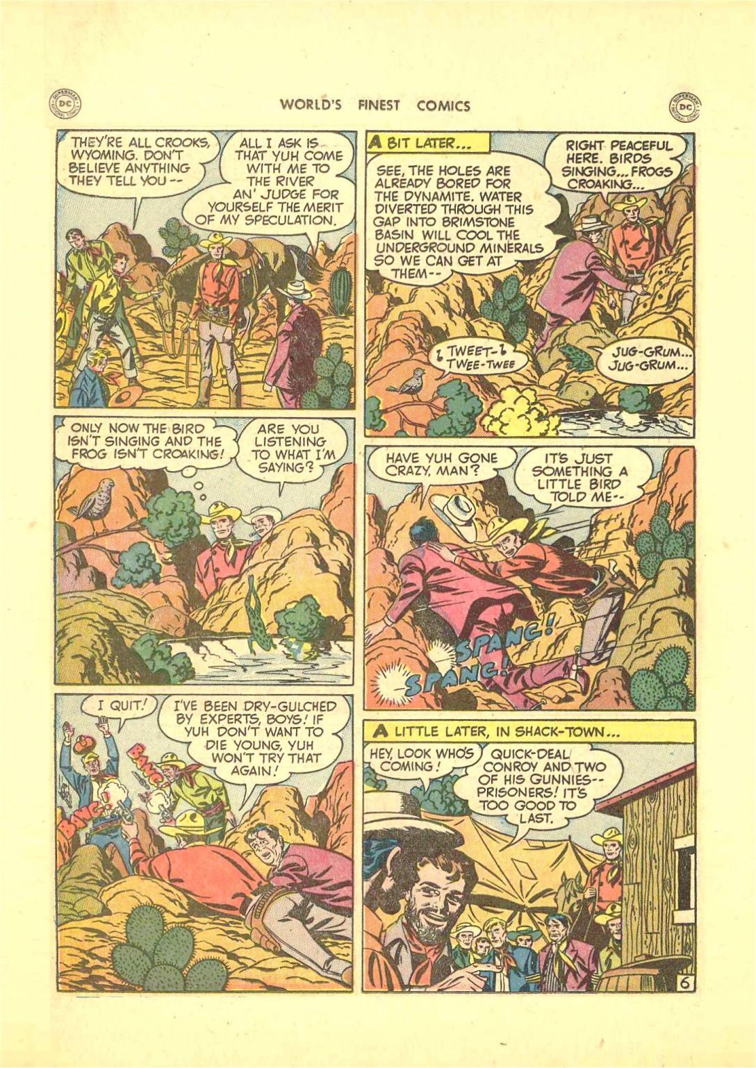 Read online World's Finest Comics comic -  Issue #50 - 44