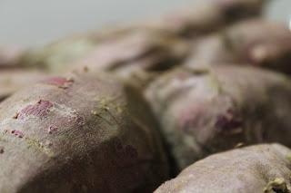 Compota de batata-doce sem açúcar