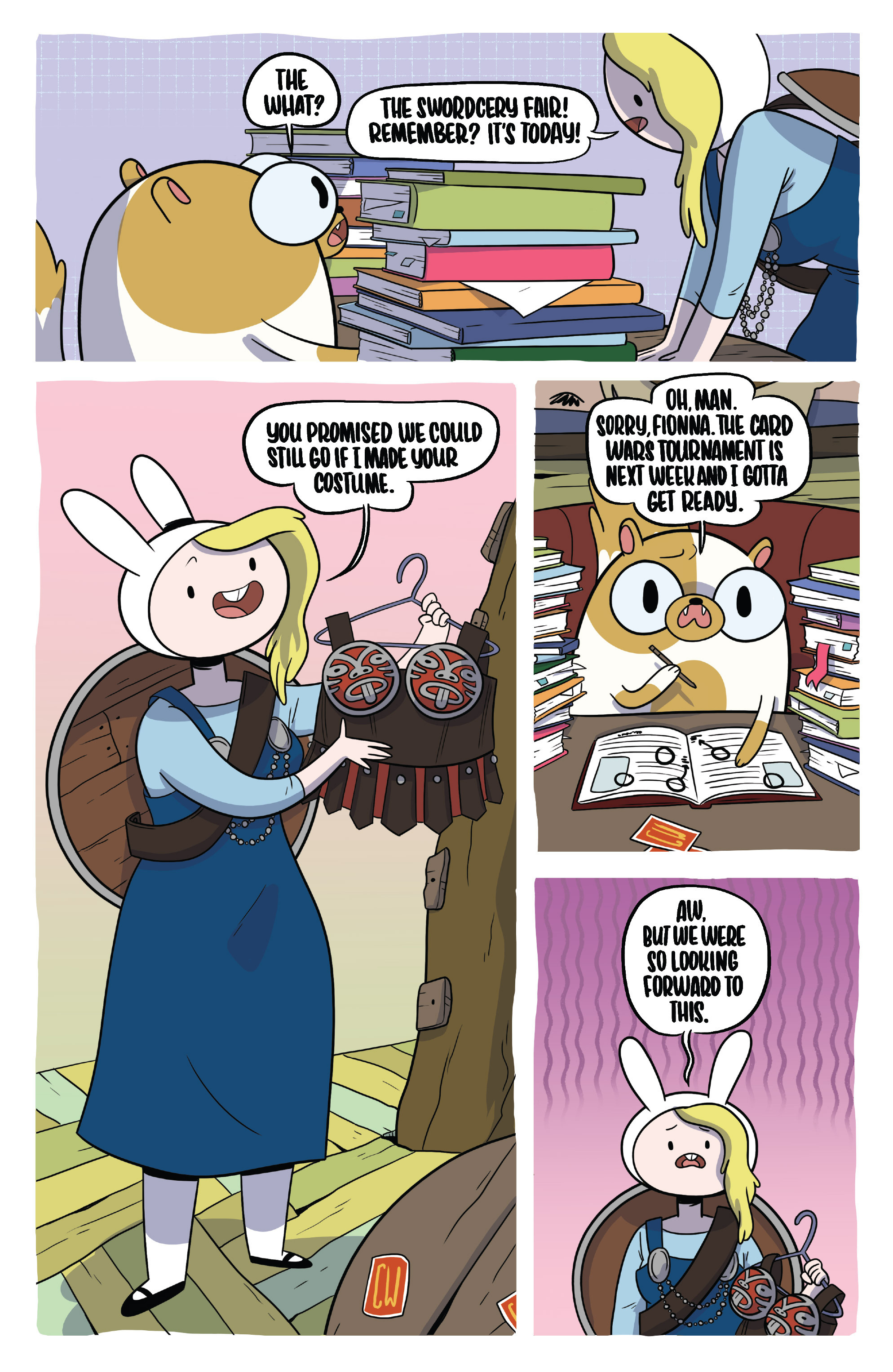 Read online Adventure Time Fionna and Cake Card Wars comic -  Issue #3 - 10