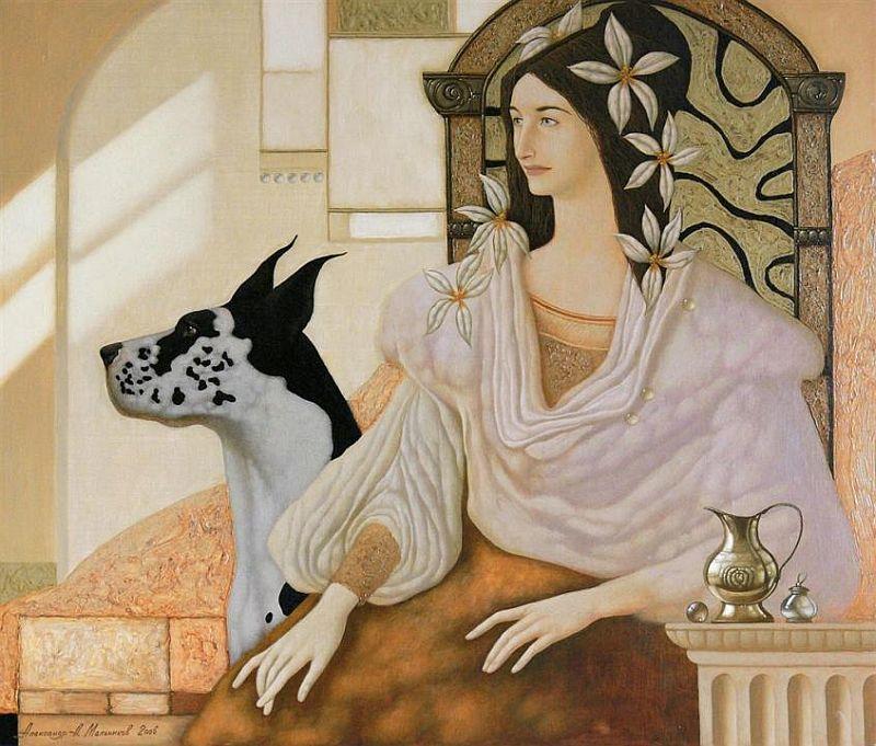 El Hurgador [Arte en la Red]: Pintando perros / Painting Dogs (LIV)