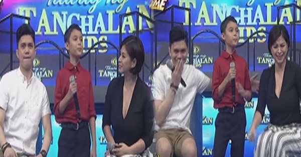 MUST WATCH: Angel Locsin Accidentally Fell Of Her Seat During Tawag Ng Tanghalan!