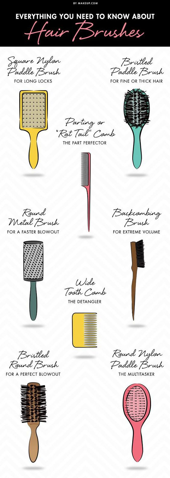 How To Use Hair Brushes The Right Way