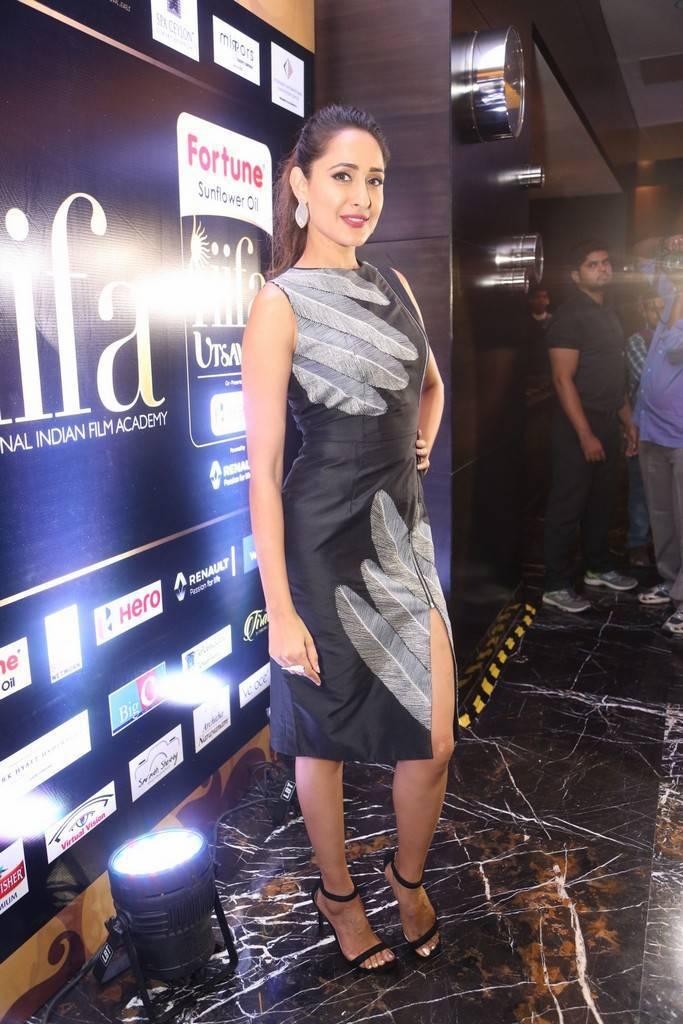 Actress Pragya Jaiswal Photos At IIFA Utsavam 2017 Press Meet