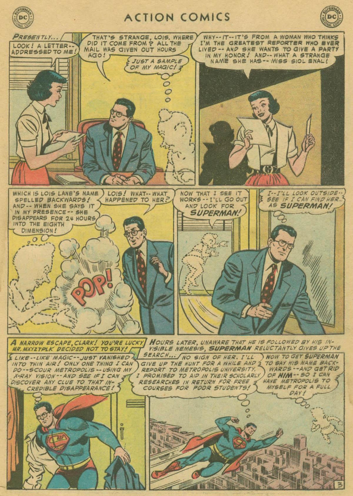 Action Comics (1938) 208 Page 3