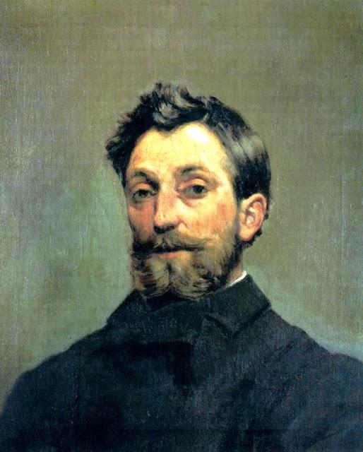Ricardo Arredondo y Calmache, Self Portrait, Portraits of Painters, Fine arts, Ricardo Arredondo
