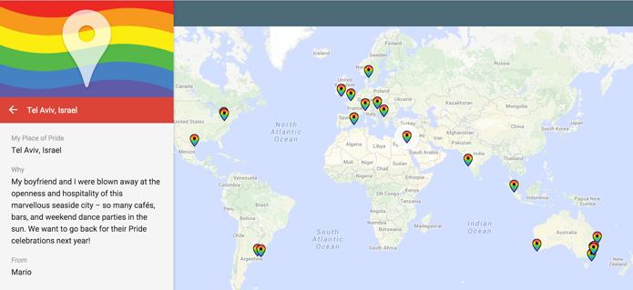 Google Maps permite marcar lugares que fazem você sentir orgulho em ser LGBT