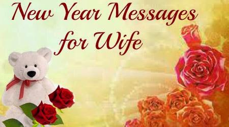 Happy New Year 2016 Wishes for Wife