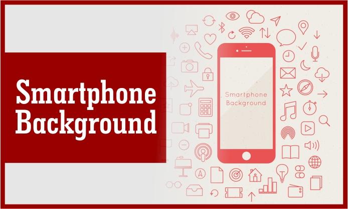 Download Desain Background Smartphone Vector