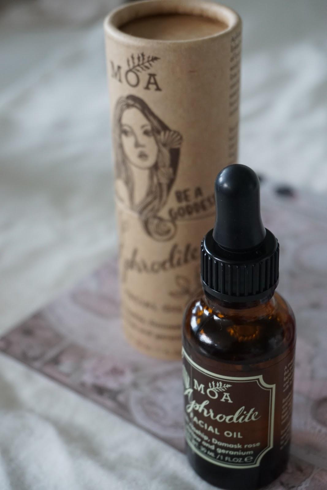 MOA Magic Organic Apothecary Aphrodite Facial Oil kasvoöljy