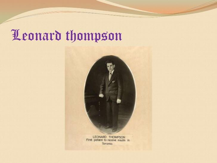 Resultado de imagen para Fotos de Leonard Thompson es el primer enfermo de diabetes que recibe insulina como tratamiento