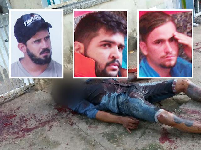 Em F-250 trio caça dois homens, mata um a facadas deixa outro em estado grave, com facada no pulmão em saída de festa de Ji-Paraná