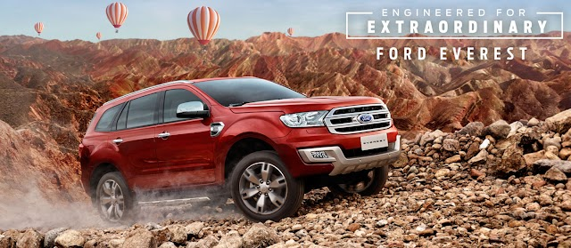 Ford EVEREST Pricelist as of February 2019.