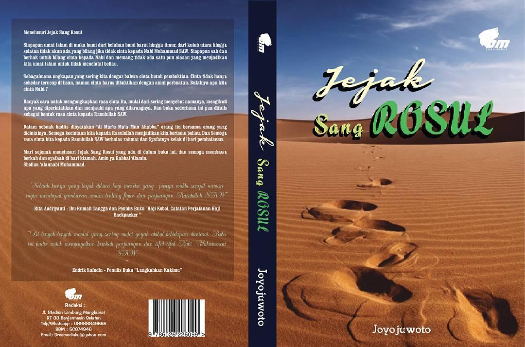 Sampul Buku Jejak Sang Rasul Karya Joyojuwoto