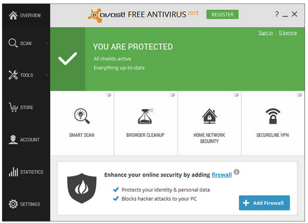 avast free antivirus download full setup