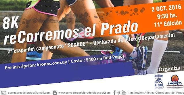 8k reCorremos el Prado (Montevideo, 02/oct/2016)
