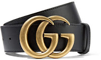 Gucci - Leather Belt - Black