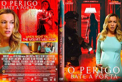 Filme O Perigo Bate à Porta (Wolves at The Door) DVD Capa