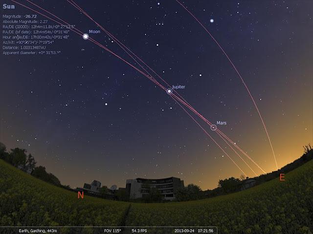 تحميل stellarium برنامج القبة السماوية لعرض النجوم والأجرام والكواكب بدقة ثلاثية الأبعاد