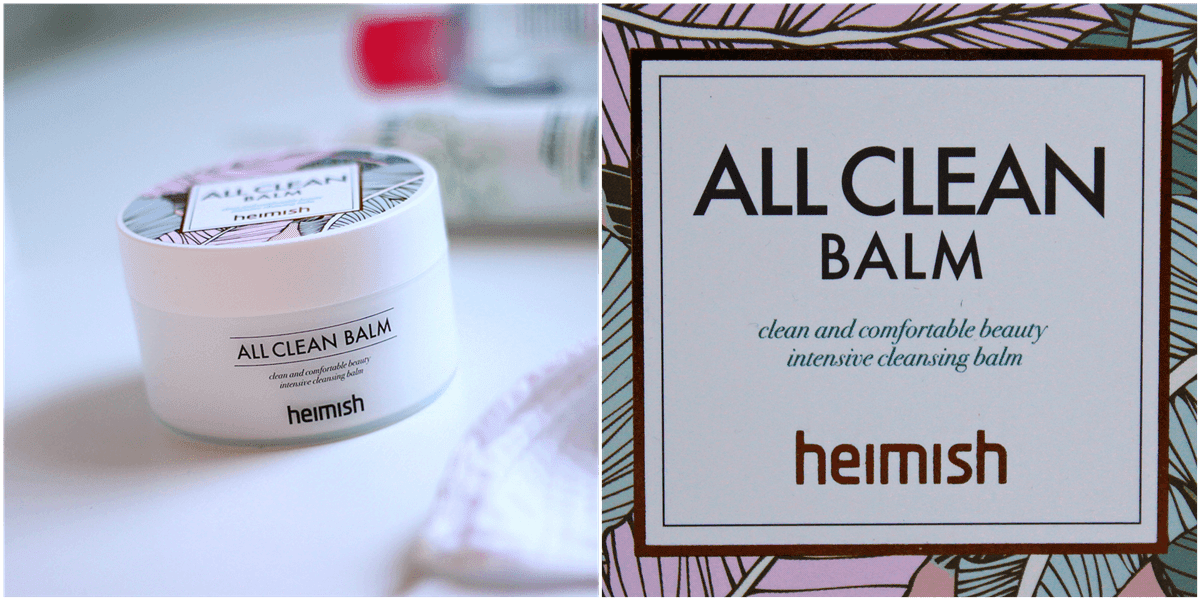 heimish all clean balm recenzija