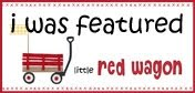 I was featured at the Little Red Wagon