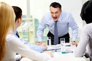Cara Menghadapi Atasan Pemarah Dan Galak Bos Temperamen