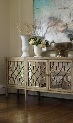 Mirrored Console by Hooker Furniture