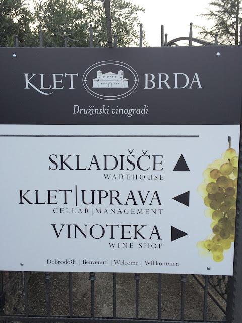 klet brda wine cellar slovenia