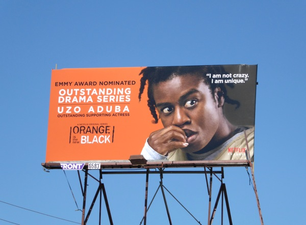 Orange is the New Black season 3 Emmy 2015 billboard
