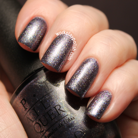 OPI Skyfall Collection: On Her Majesty's Secret Service (work / play / polish)