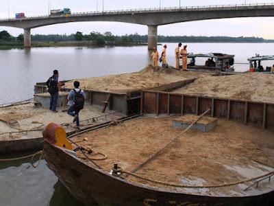 Quảng Nam tiếp tục siết chặt các quy định vận hành khai quật cát, sỏi từ ngày 1/8