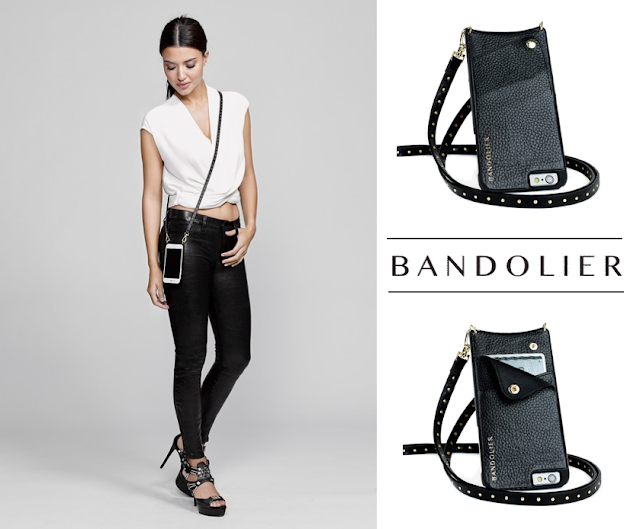 Bandolier Black with Gold Mini Studs - iPhone 6