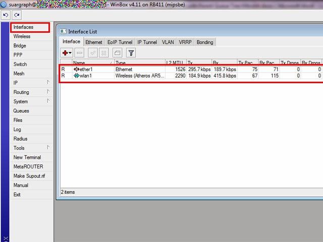 Full Bandwidth Management Parent Queue Tree – …::: ClusterWeb