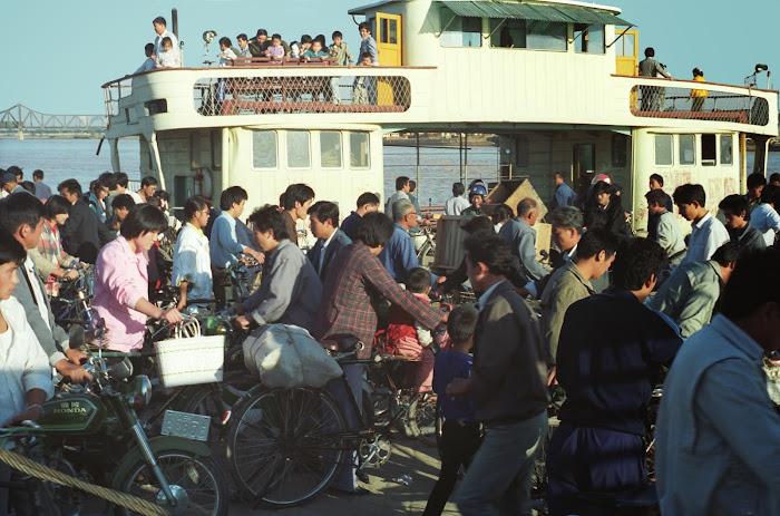 Jinan, Huang He, Fleuve jaune,  © L. Gigout, 1990