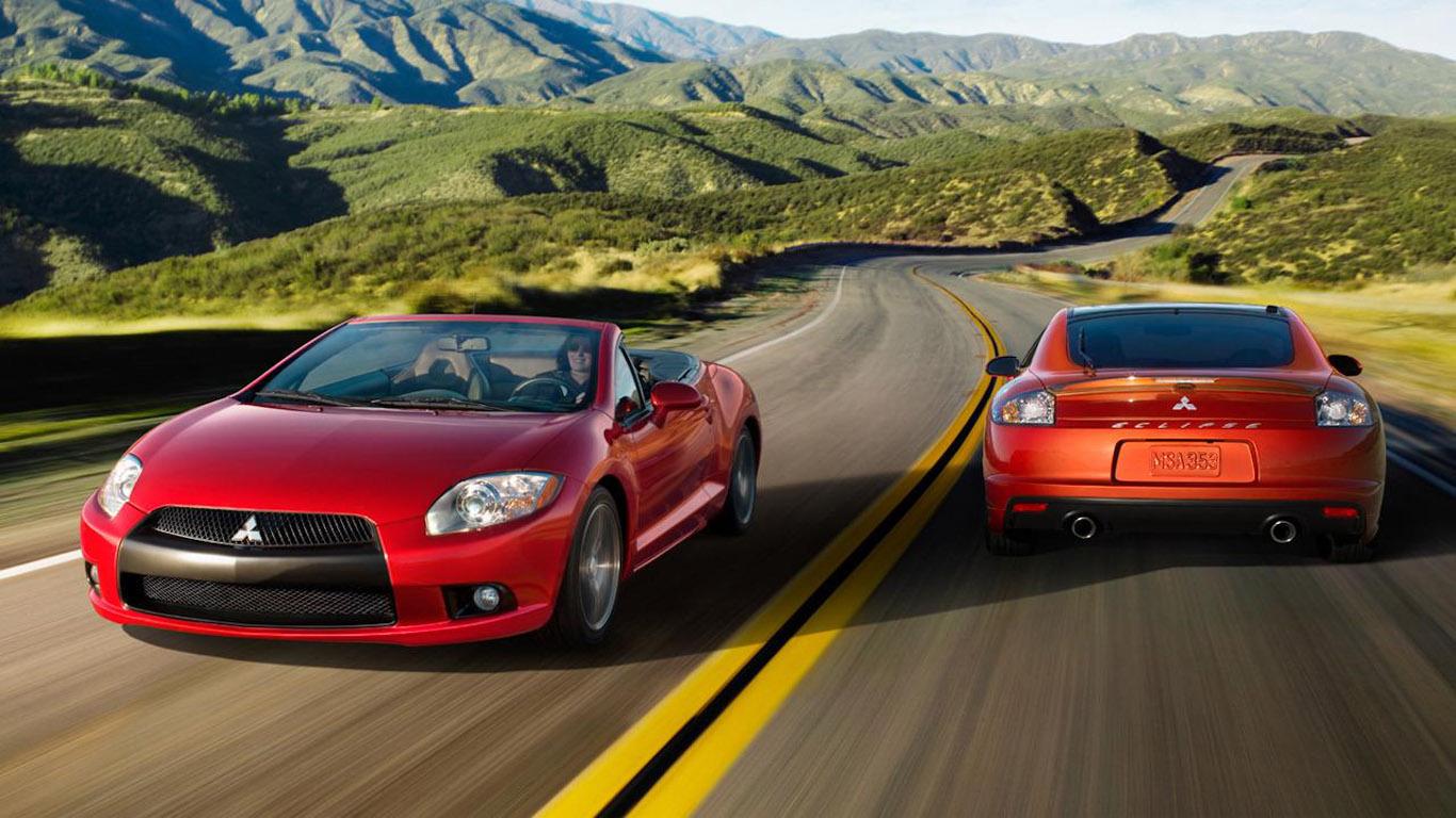 dream fantasy cars mitsubishi eclipse spyder 2012