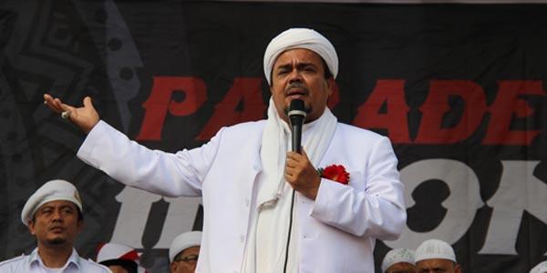 HRS Tegaskan Jokowi Tak Berhak Hadir Reuni PA 212