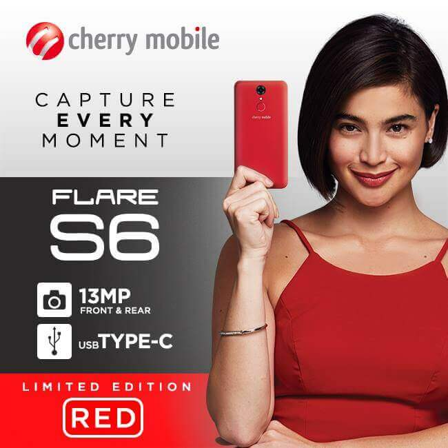 Cherry Mobile To Launch Limited Edition Red Flare S6 Next Week