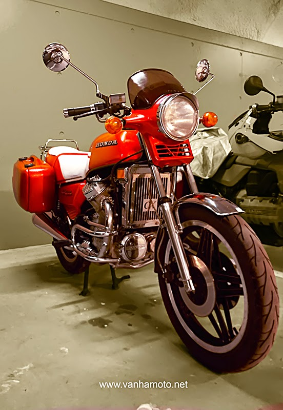 Honda CX, Viivi II - Suomen tunnetuin yksittäinen moottoripyörä?