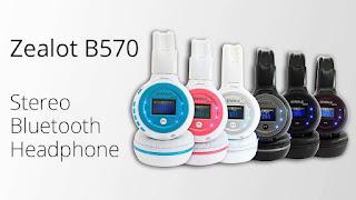 Headset Bluetooth Terbaik Murah 2018 Zealot